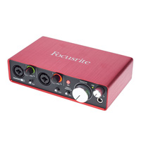interfa de audio Focusrite 2i2
