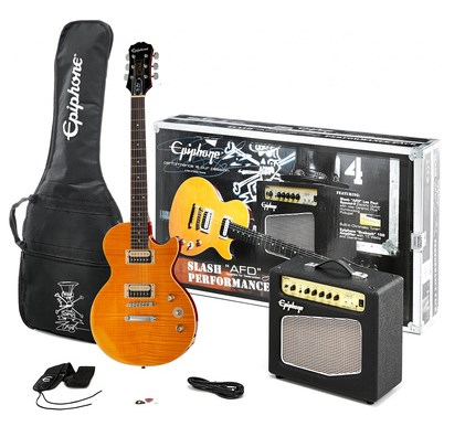 Fotografía Epiphone Slash AFD LP Performance Pack