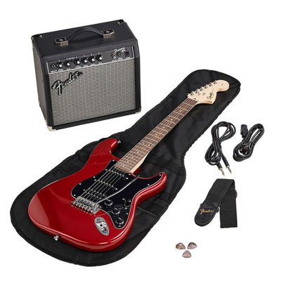 guitarra Fender pack