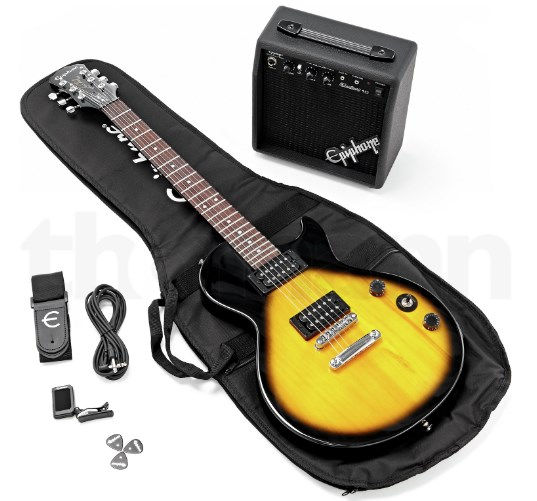 Fotografía Guitarra Epiphone Les Paul Player Pack VS