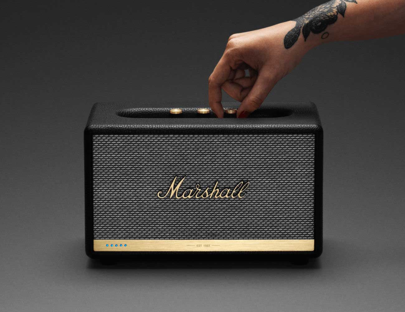 MArshall Acton controles