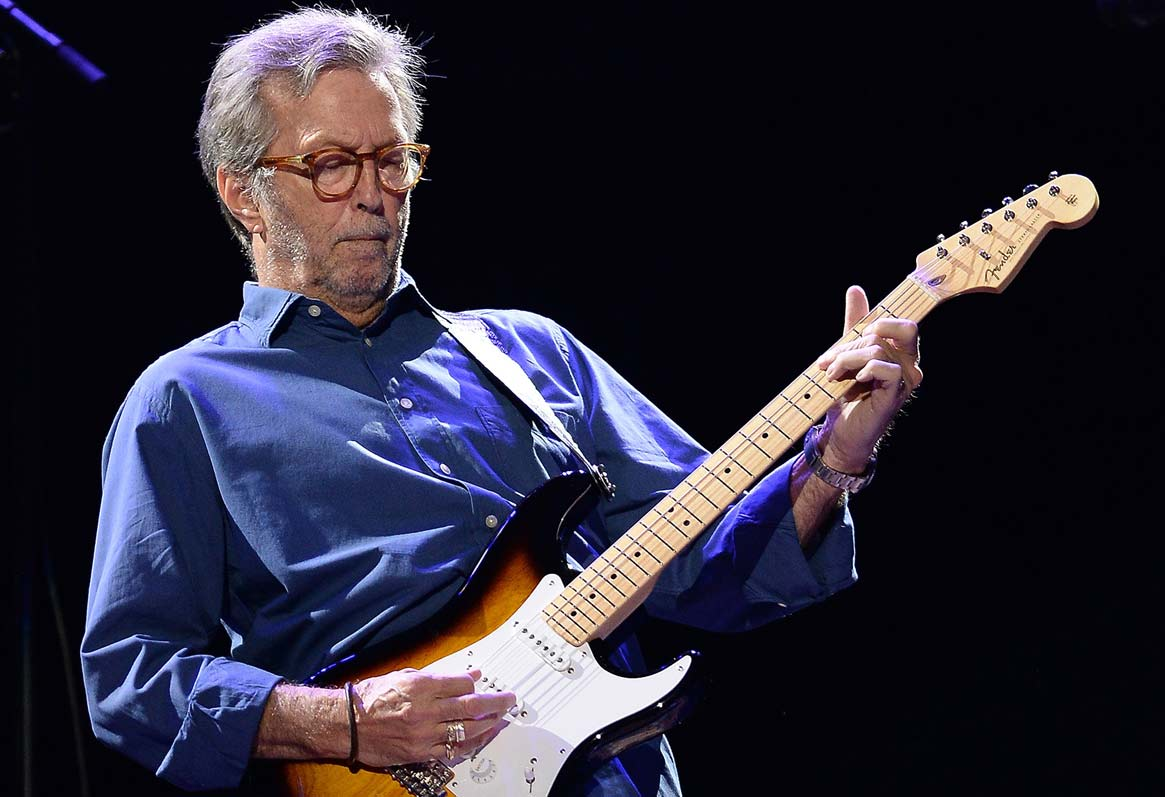 guitarristas de blues Eric Clapton