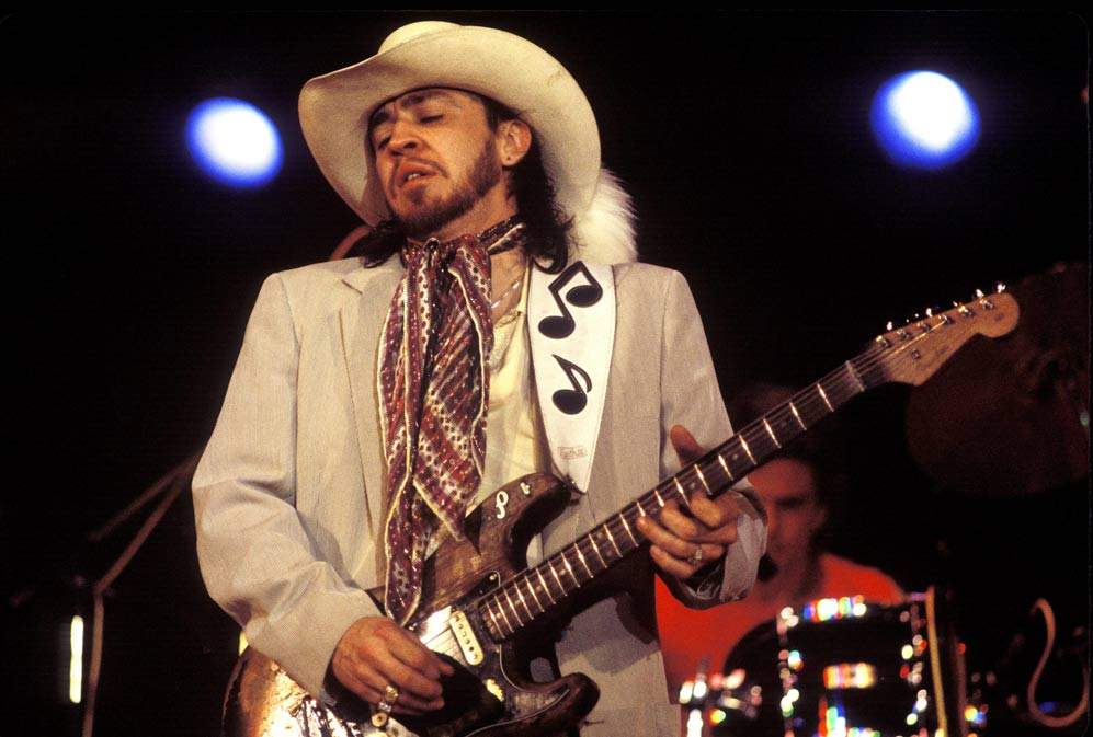 guitarristas info Stevie Ray