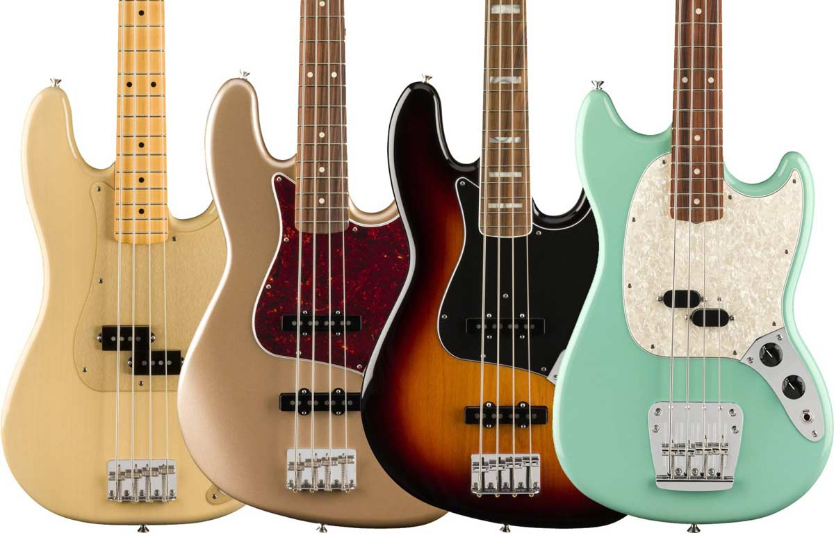 fender precision bass versiones