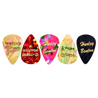 Harley Benton Guitar Pick Medium 5 Pack